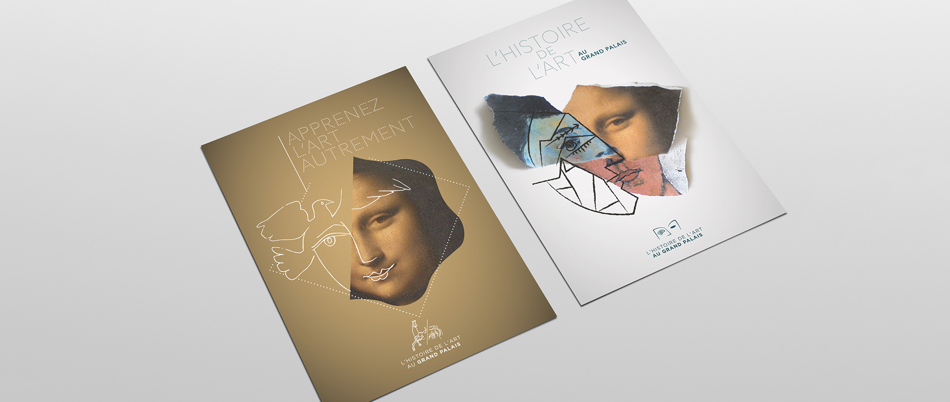 Affiche identité Histoire de l'art au Grand Palais - RMNGP / par Epok Design