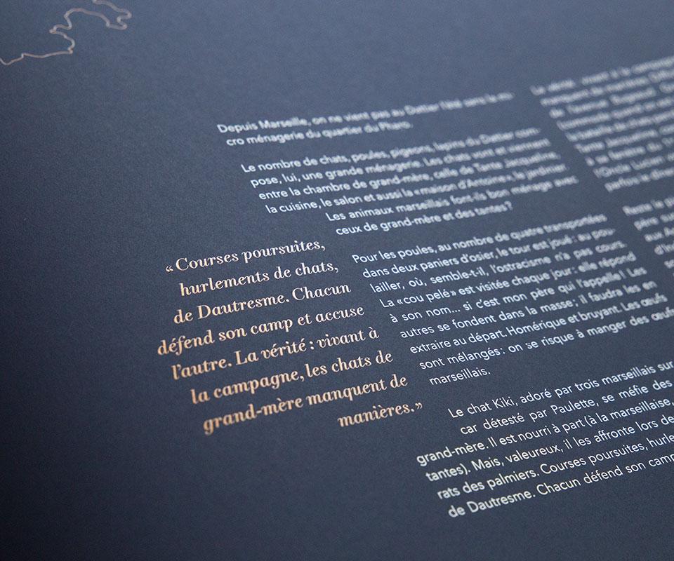 Le dattier epok design livre serigraphie arjowiggins silium livre